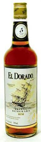 El Dorado Rum 5 Year Old